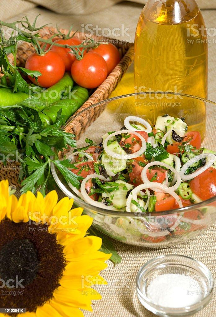 Vegan Salad royalty-free stock photo