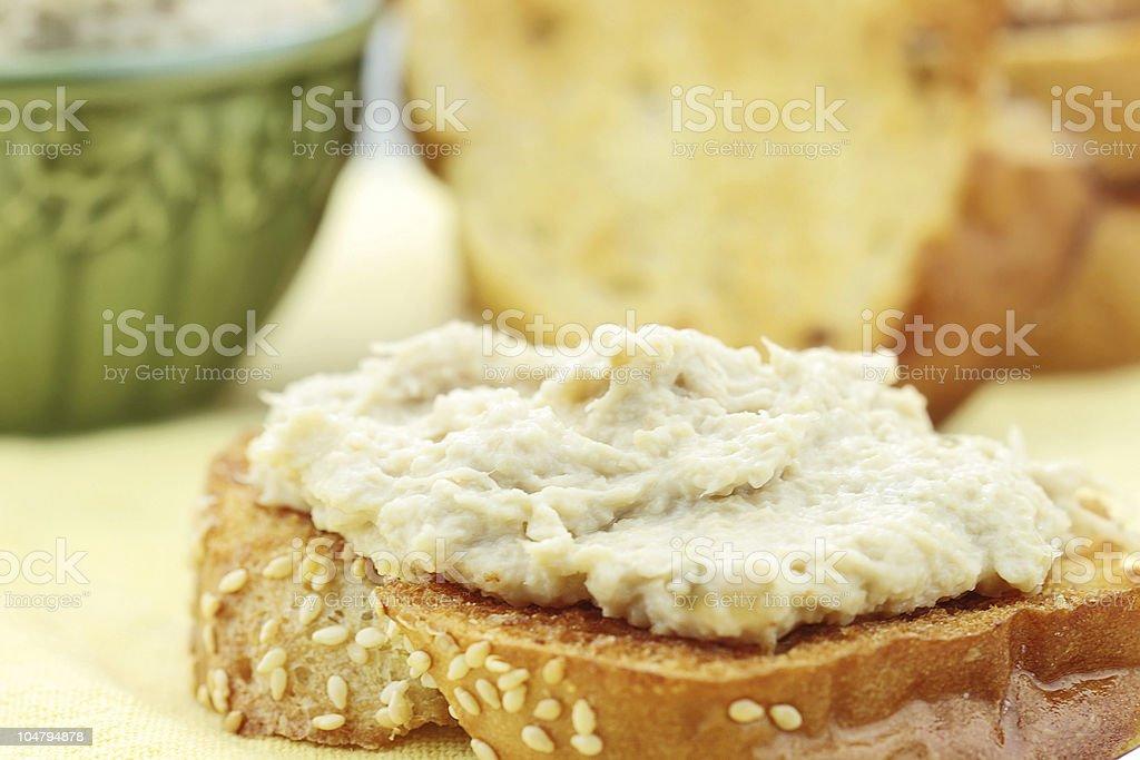 Vegan Sandwich stock photo