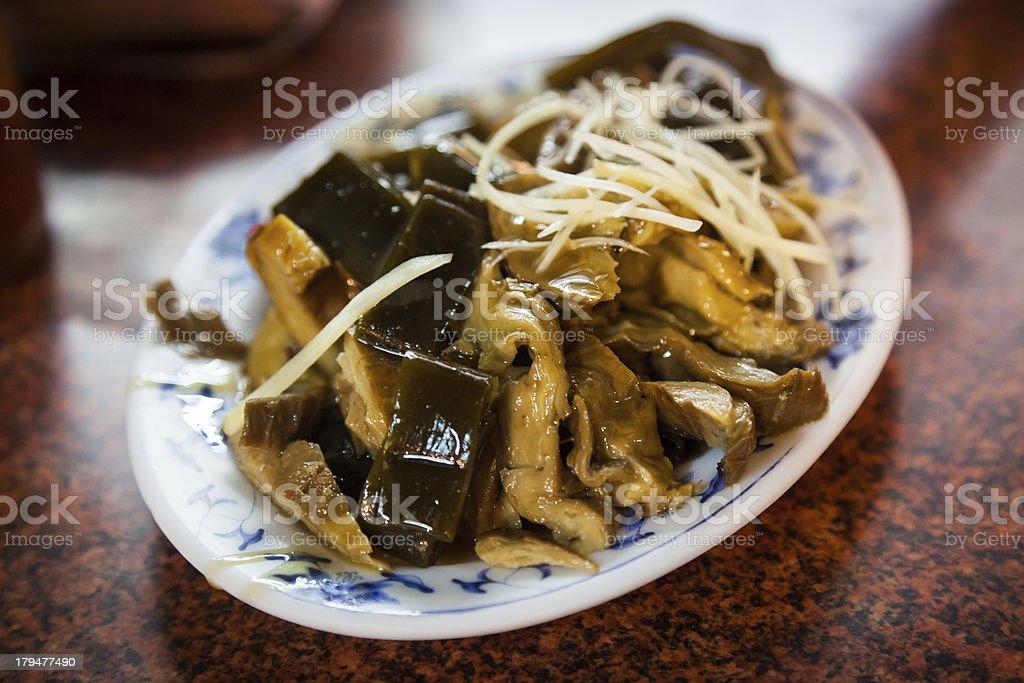 Vegan Soya-mixed(素食滷味) stock photo