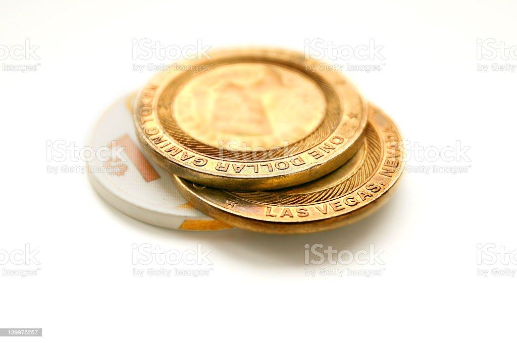 Vegas Chips royalty-free stock photo