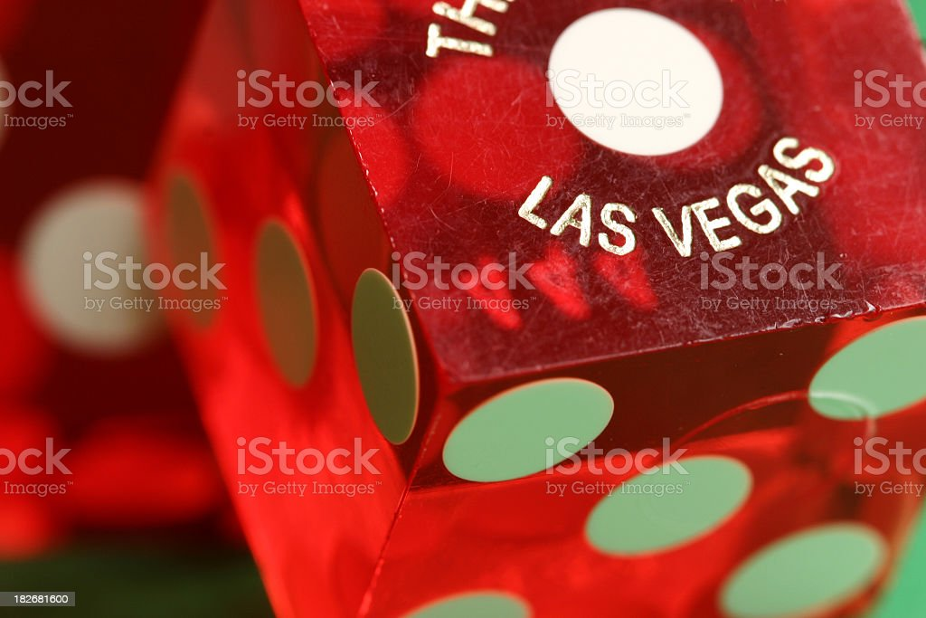 vegas dice stock photo