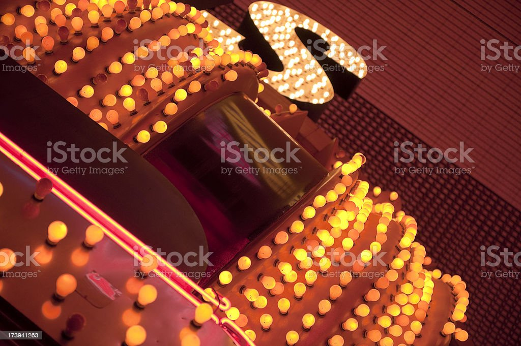 Vegas Lights royalty-free stock photo