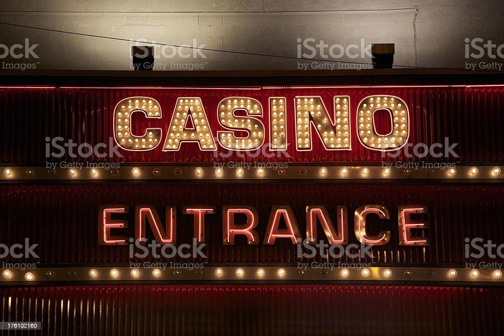 Vegas Lights royalty-free stock photo
