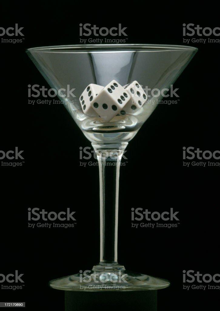 Vegas Martini royalty-free stock photo