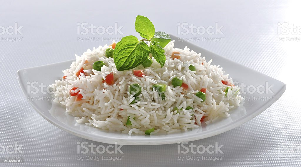 Vege Rice stock photo