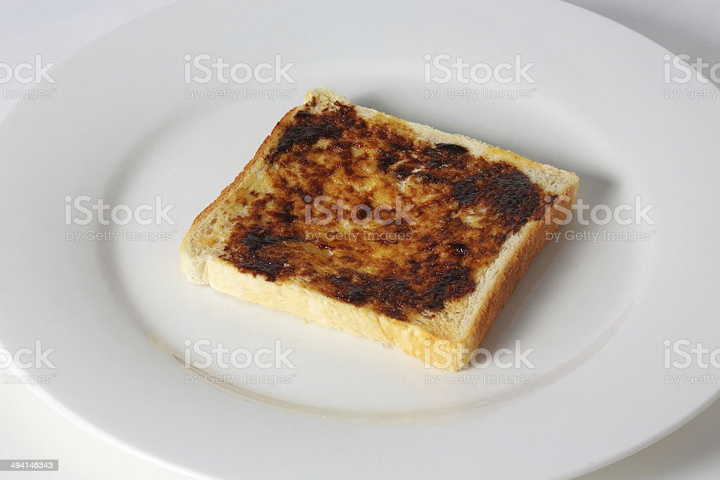 Vegemite on Toast stock photo