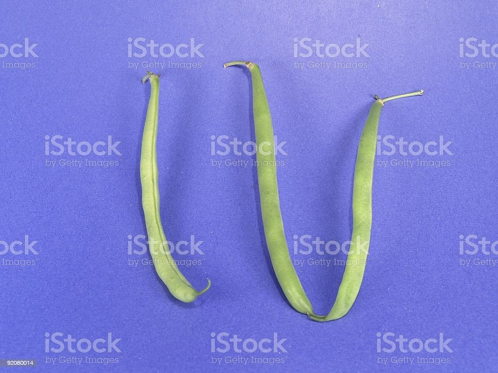 Vege-Number four (Roman) stock photo