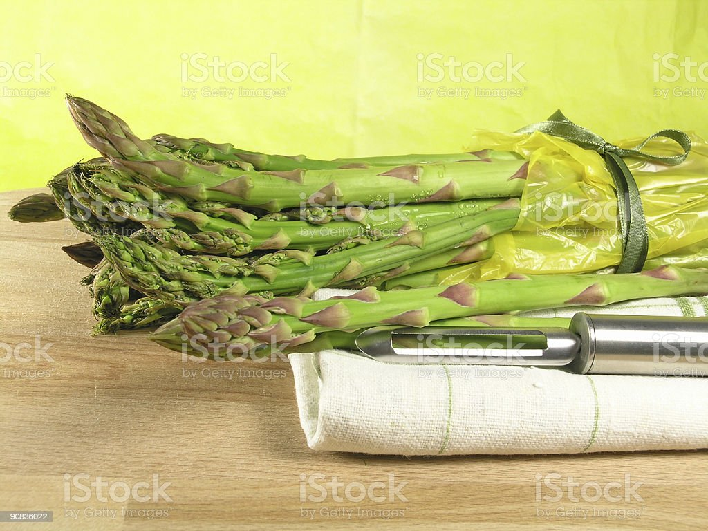 vegetable - asparagus stock photo