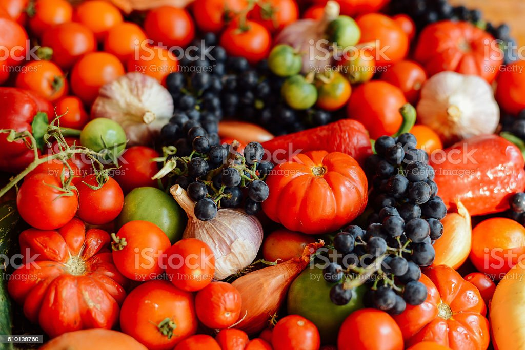 Vegetable background. Healthy lifestyle. The concept of proper n stock photo