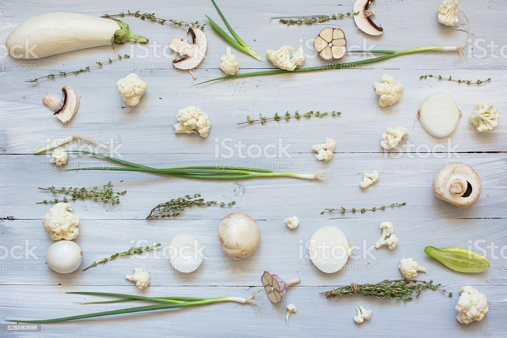 Vegetable background. stock photo