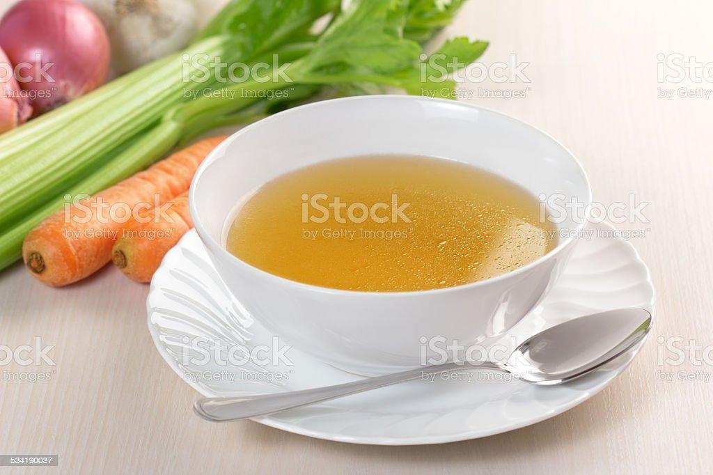 vegetable bouillon stock photo