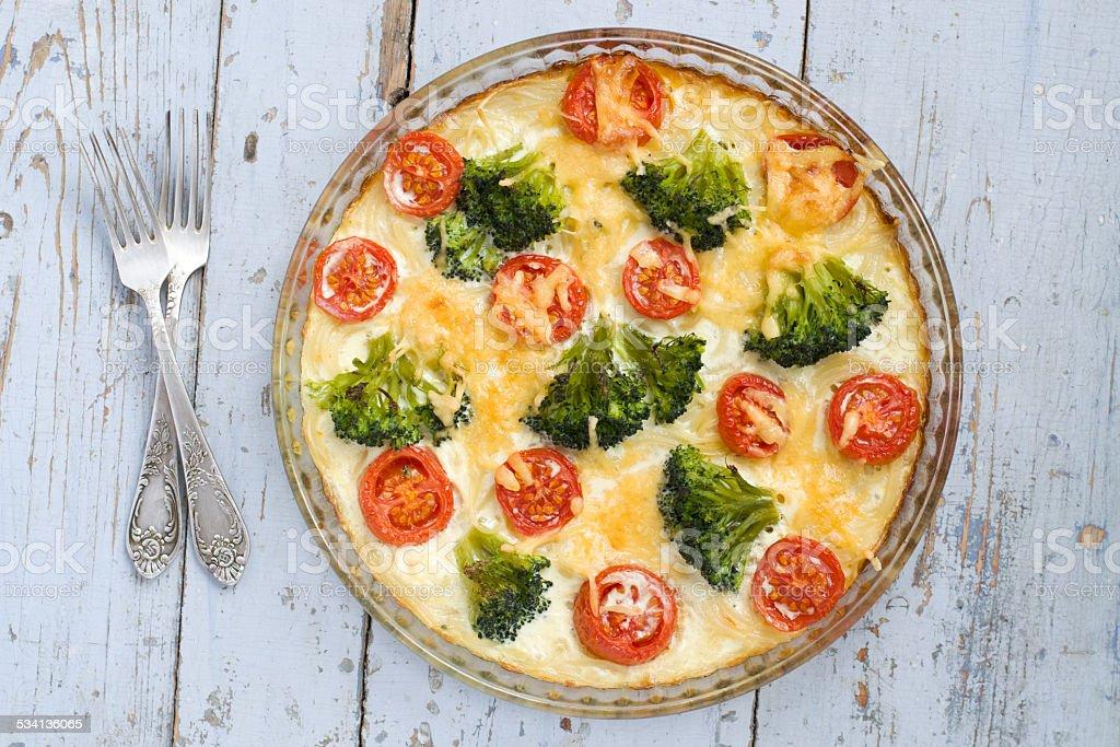 vegetable casserole royalty-free stock photo