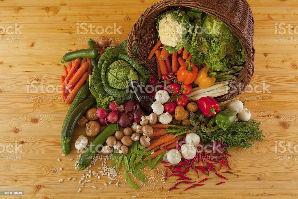 vegetable crop royalty-free stock photo