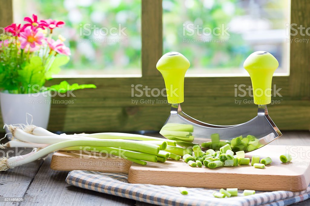 Vegetable cutter stock photo