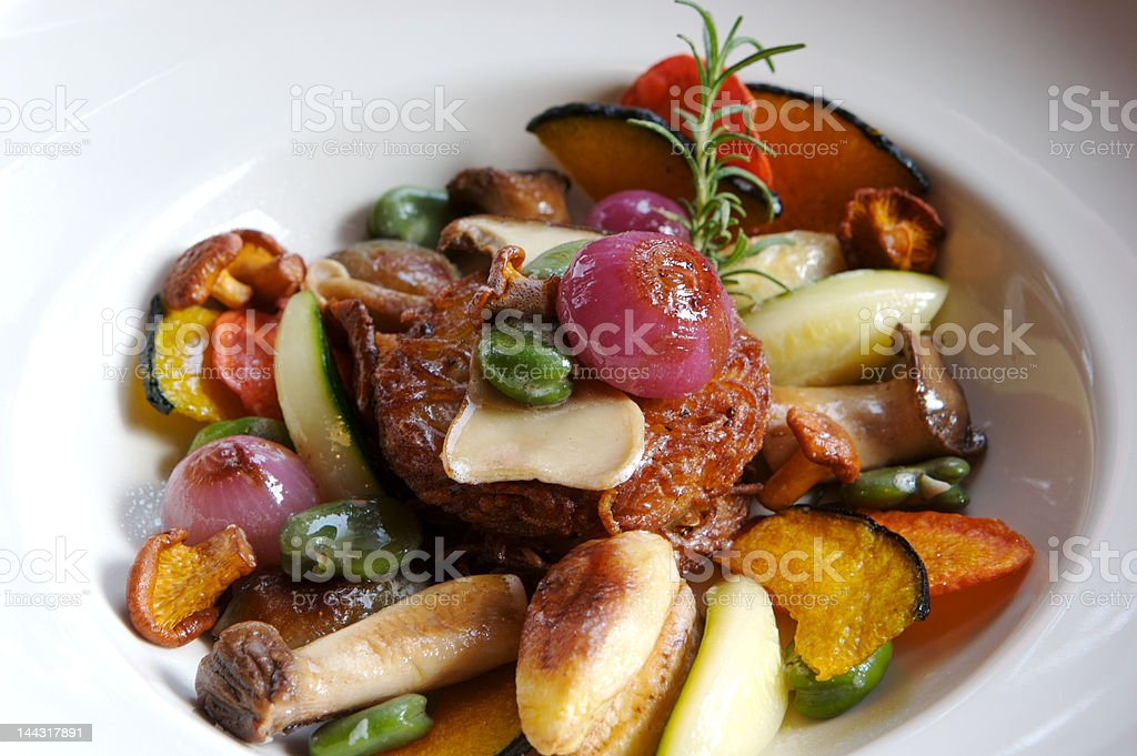 Vegetable Dish stock photo