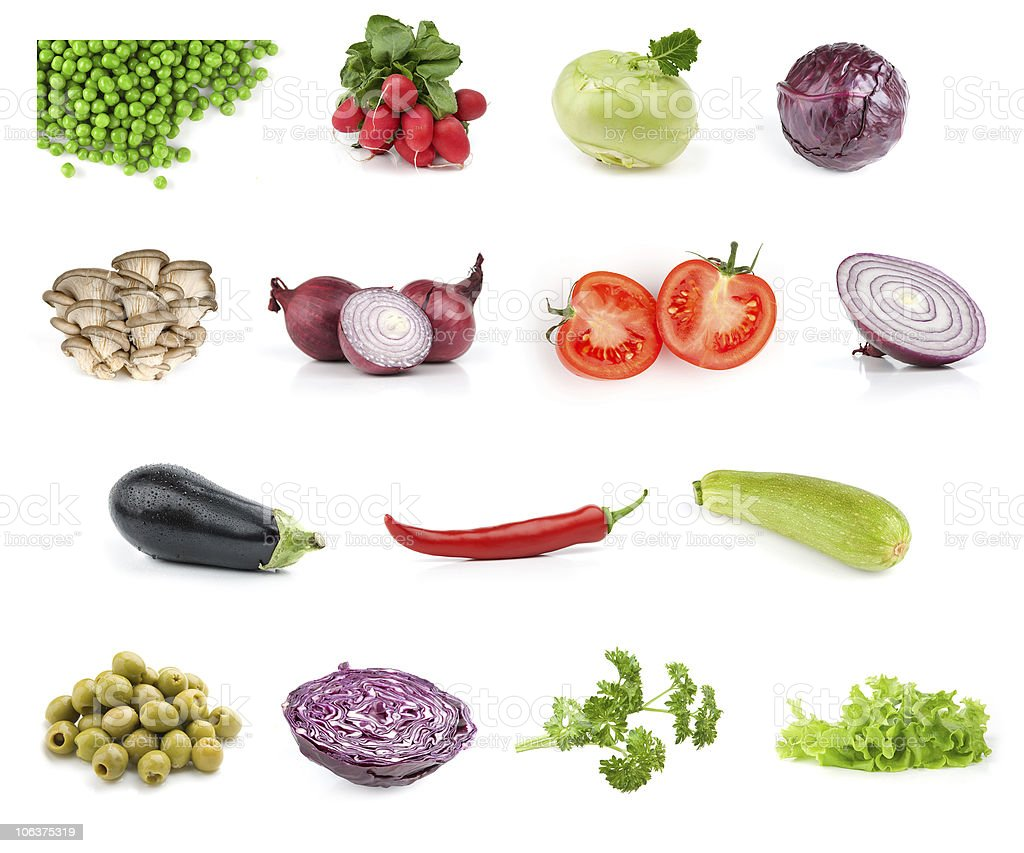 vegetable food collection royalty-free stock photo
