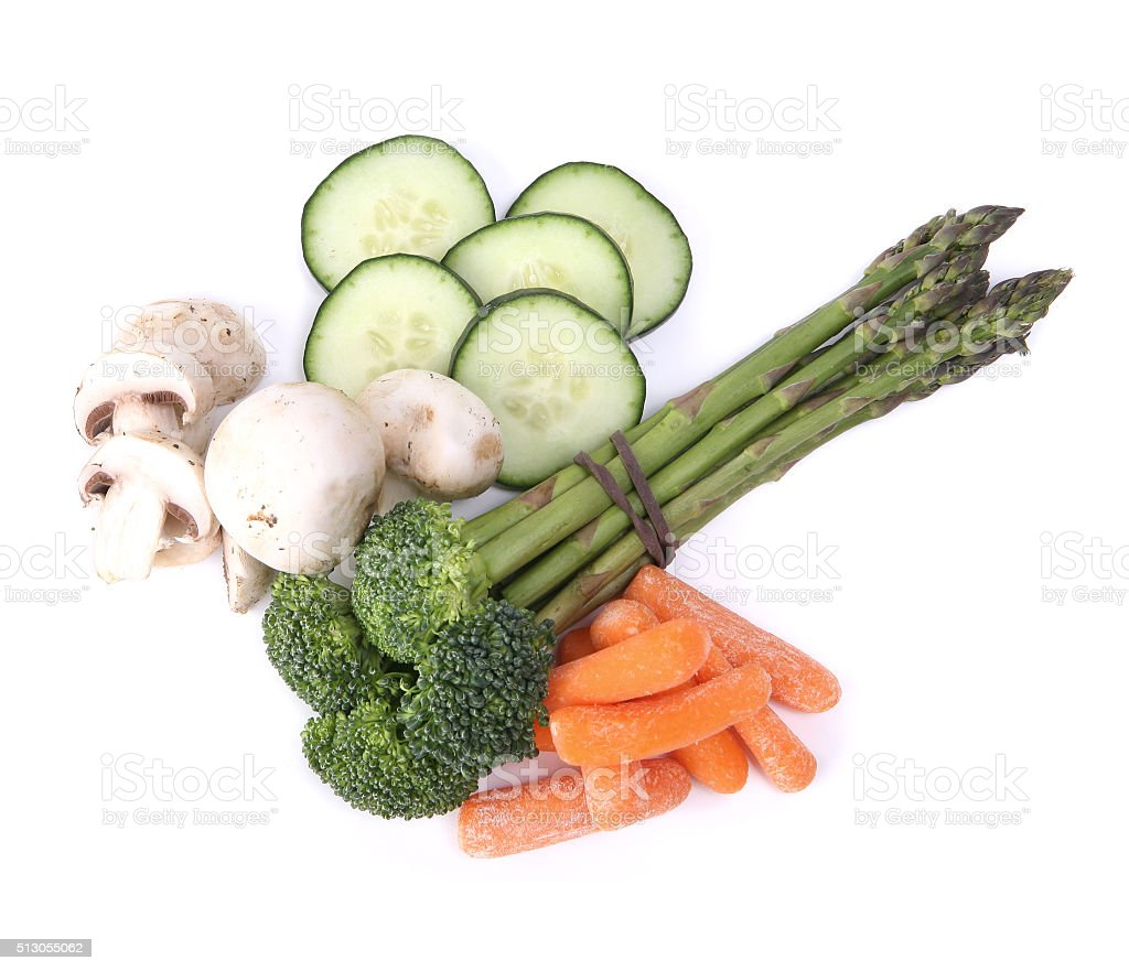 Vegetable Food Group stock photo