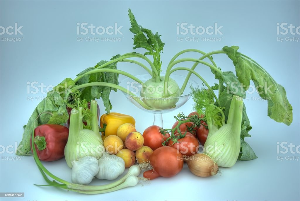 Vegetable HDRI. royalty-free stock photo