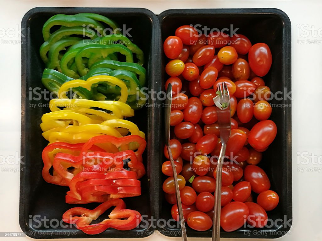 Vegetable in box royalty-free stock photo
