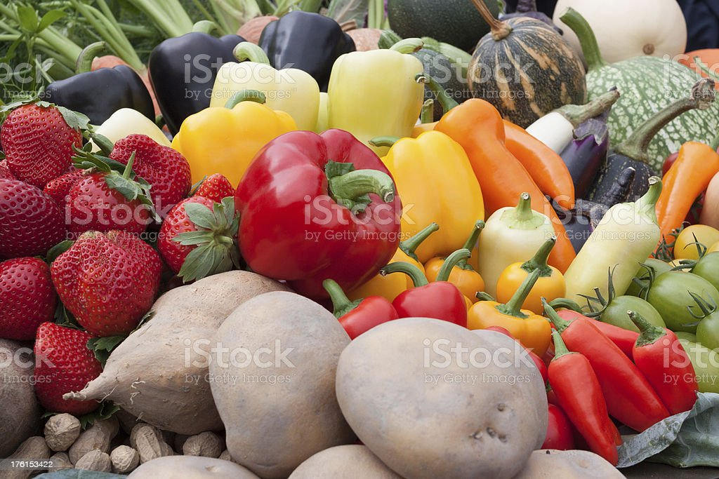 Vegetable in farmers market royalty-free stock photo