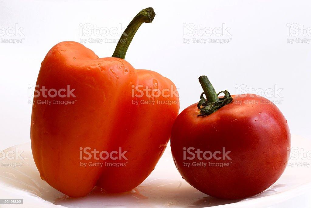 vegetable love royalty-free stock photo