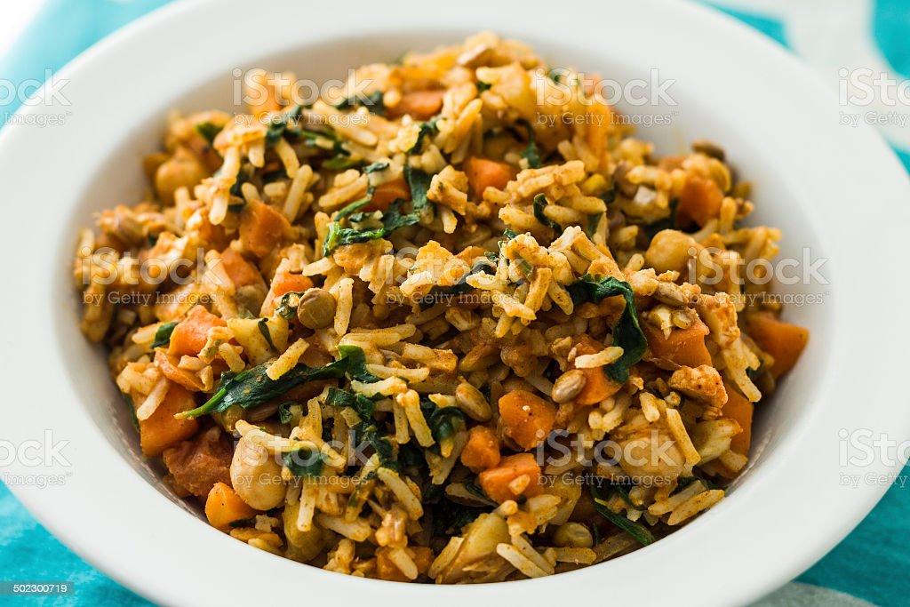 Vegetable Masala stock photo