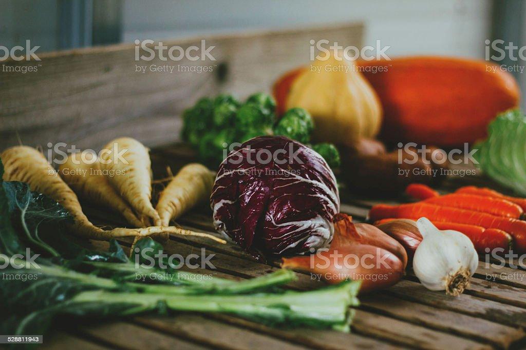 Vegetable Medley stock photo