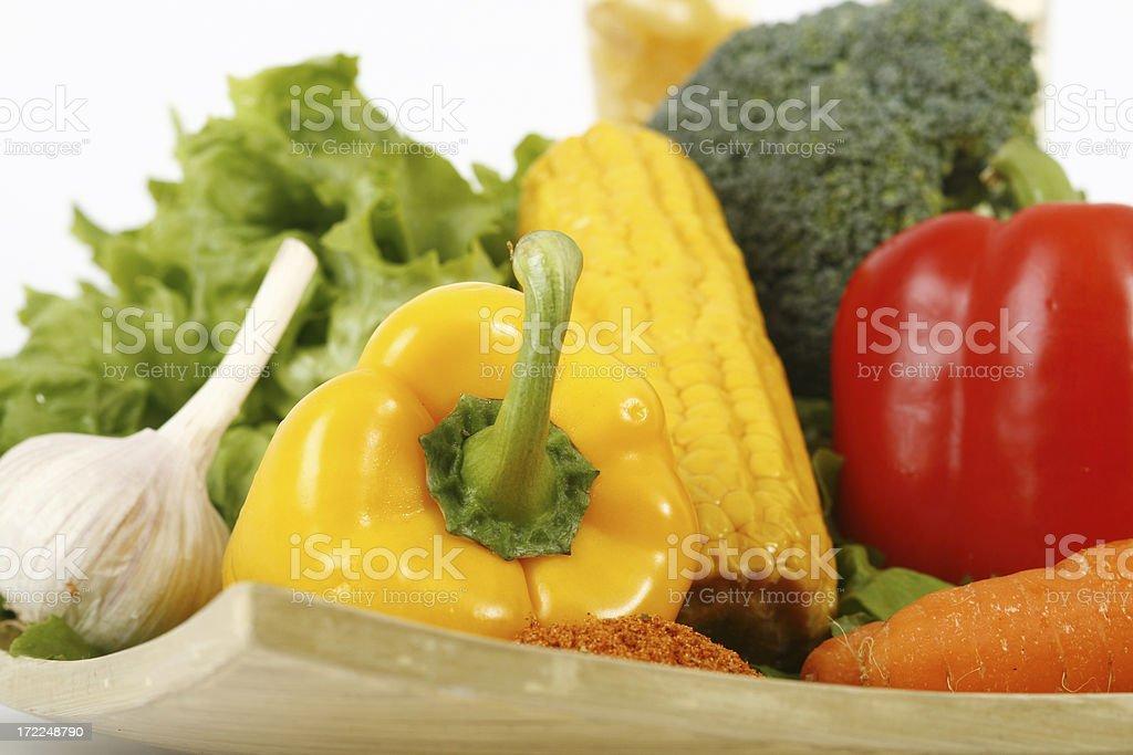 vegetable mix royalty-free stock photo