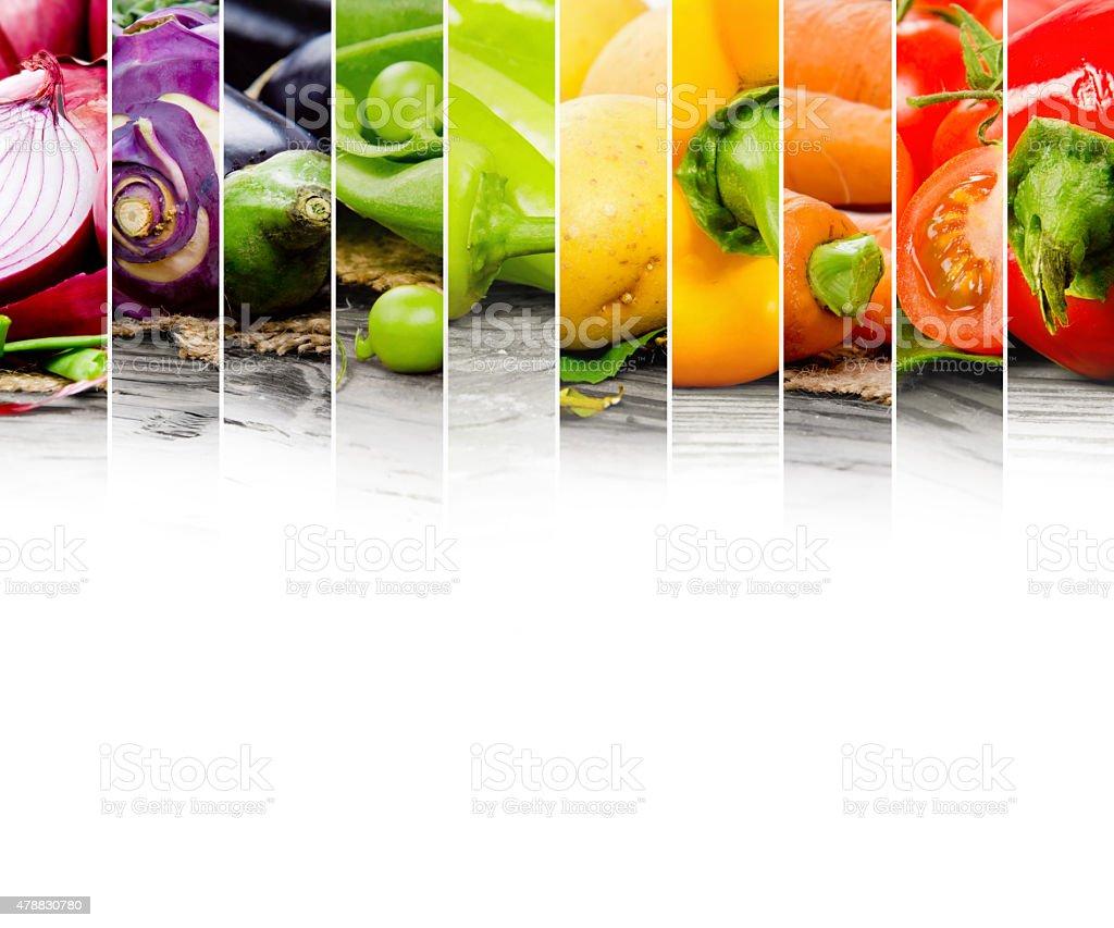 Vegetable mix stock photo
