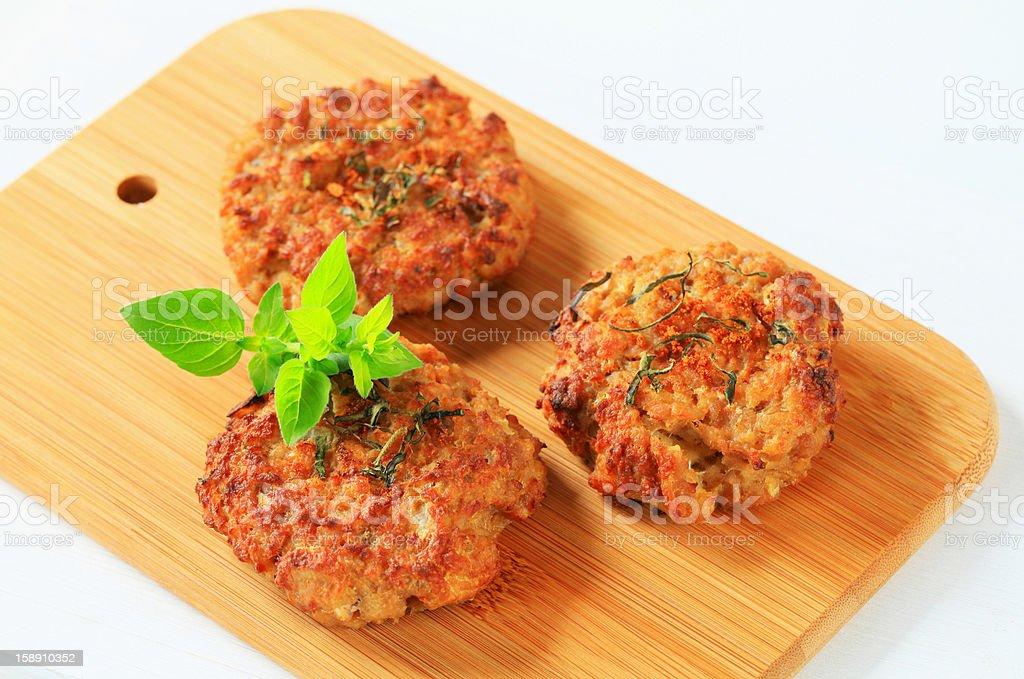 Vegetable patties royalty-free stock photo