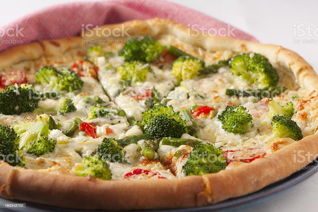 Vegetable Pizza stock photo