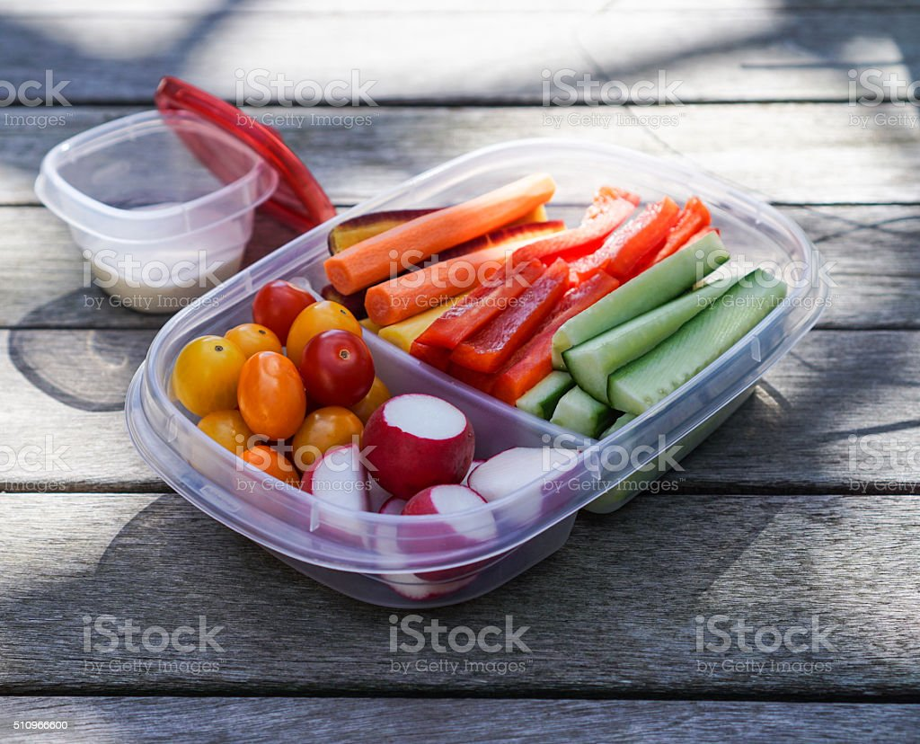 Vegetable platter, healthy eating stock photo