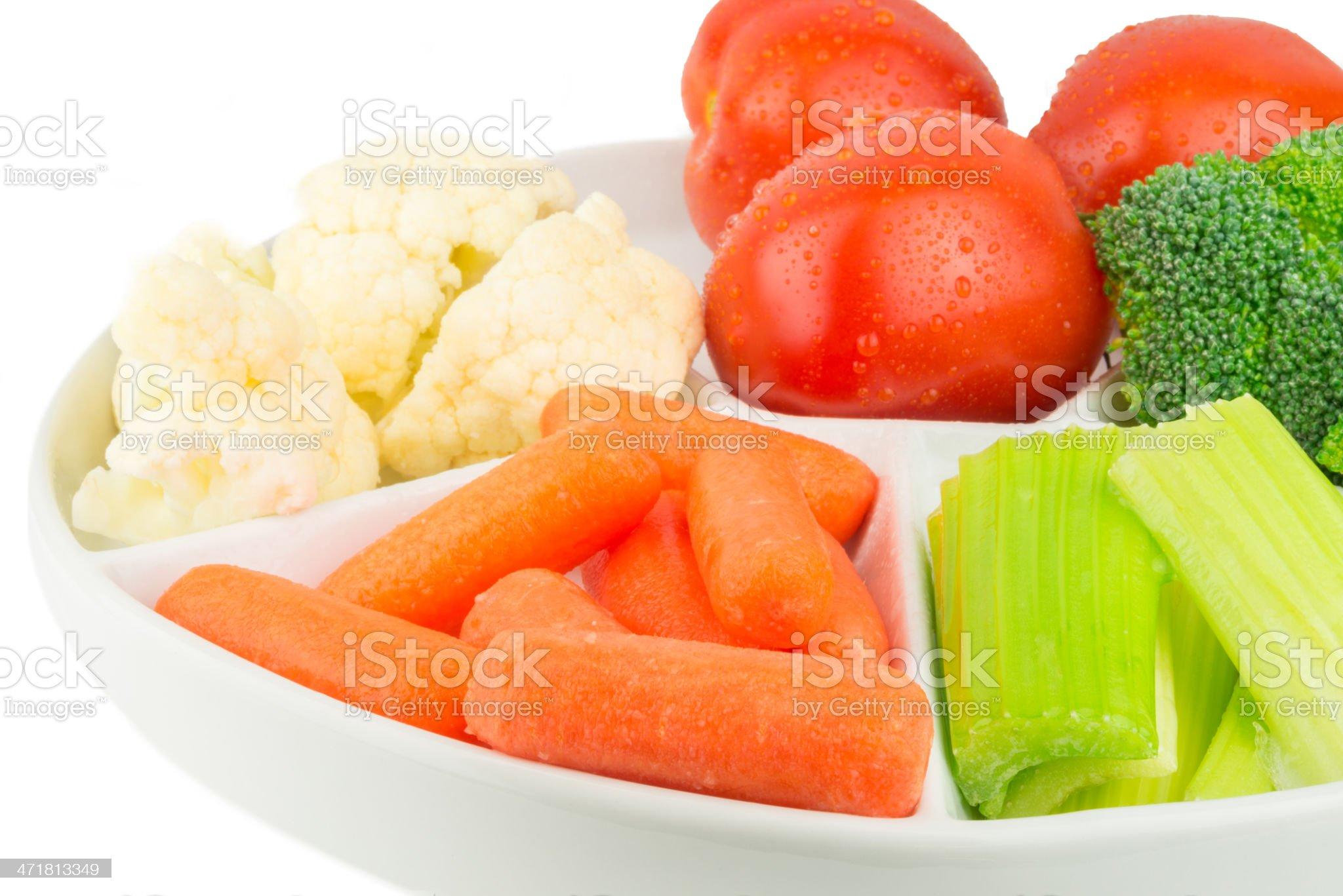 Vegetable Platter royalty-free stock photo