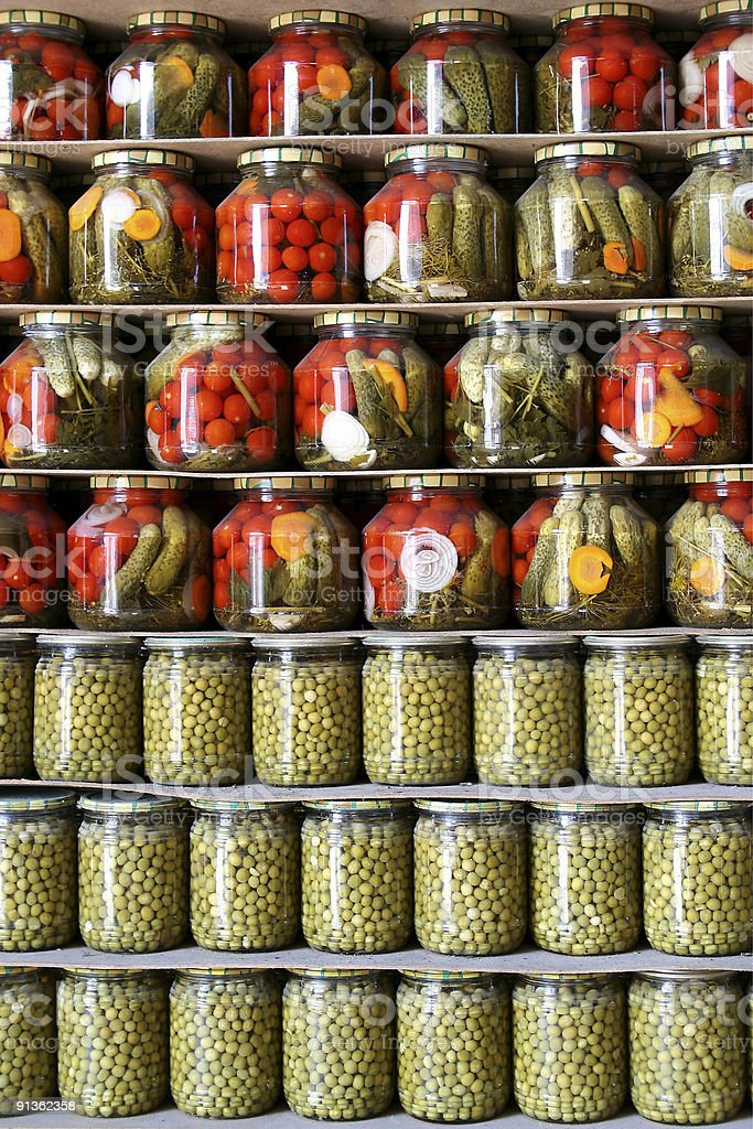 Vegetable preservation royalty-free stock photo