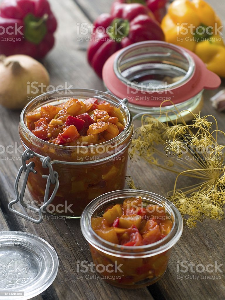 vegetable preserve royalty-free stock photo