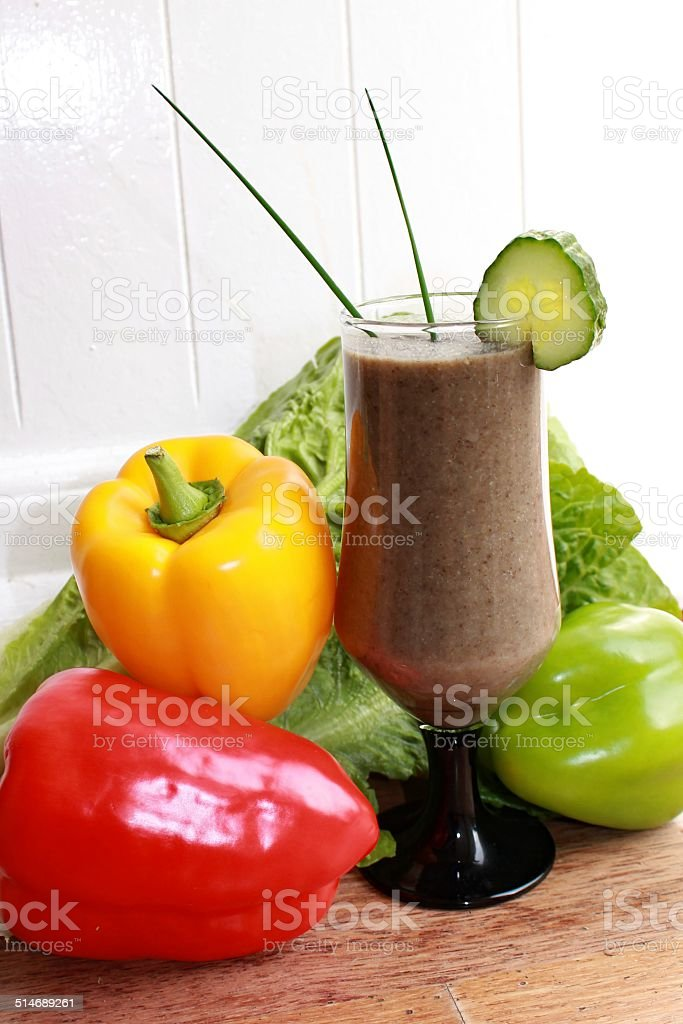 Vegetable Puree stock photo