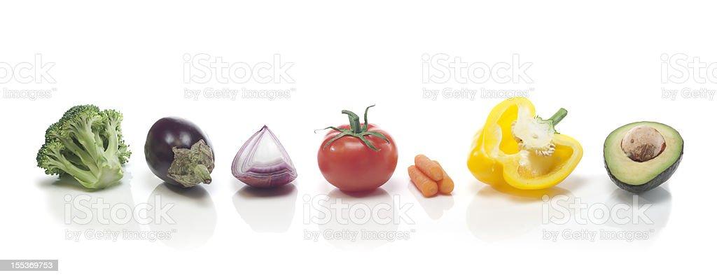 Vegetable Rainbow royalty-free stock photo