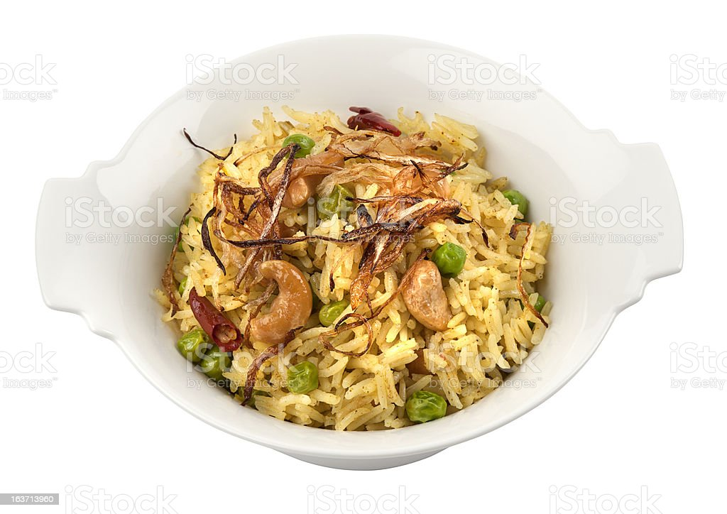 Vegetable rice royalty-free stock photo