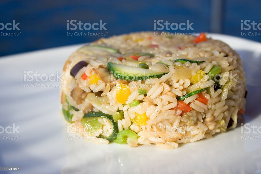 Vegetable Risotto royalty-free stock photo