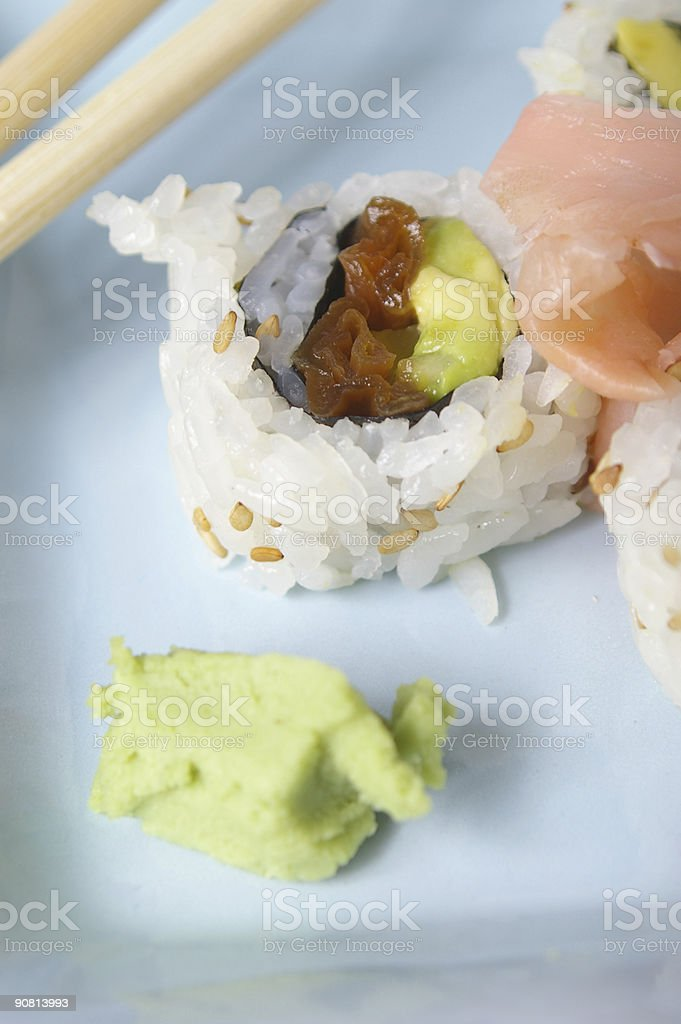 Vegetable Roll royalty-free stock photo