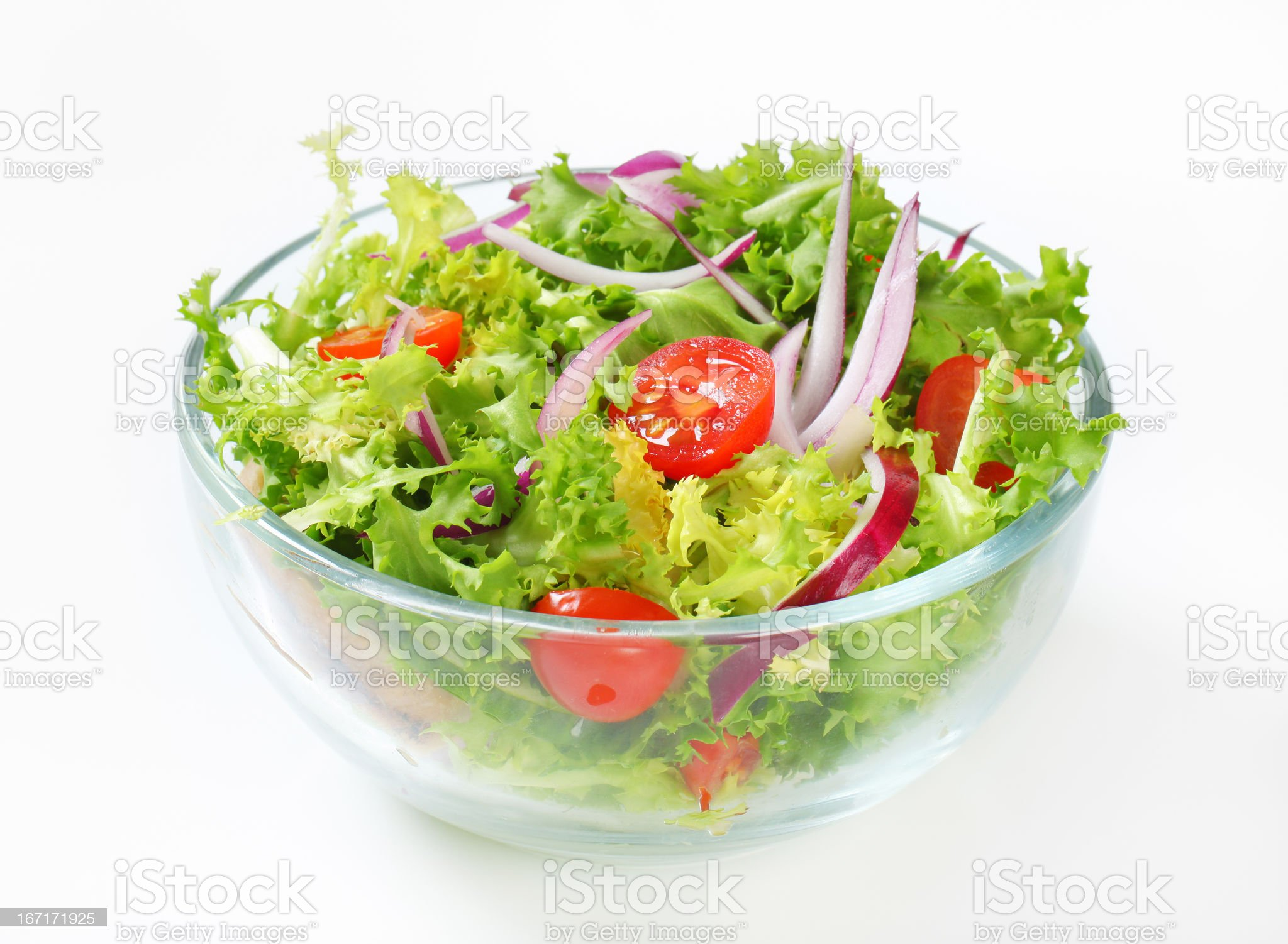 vegetable salad royalty-free stock photo