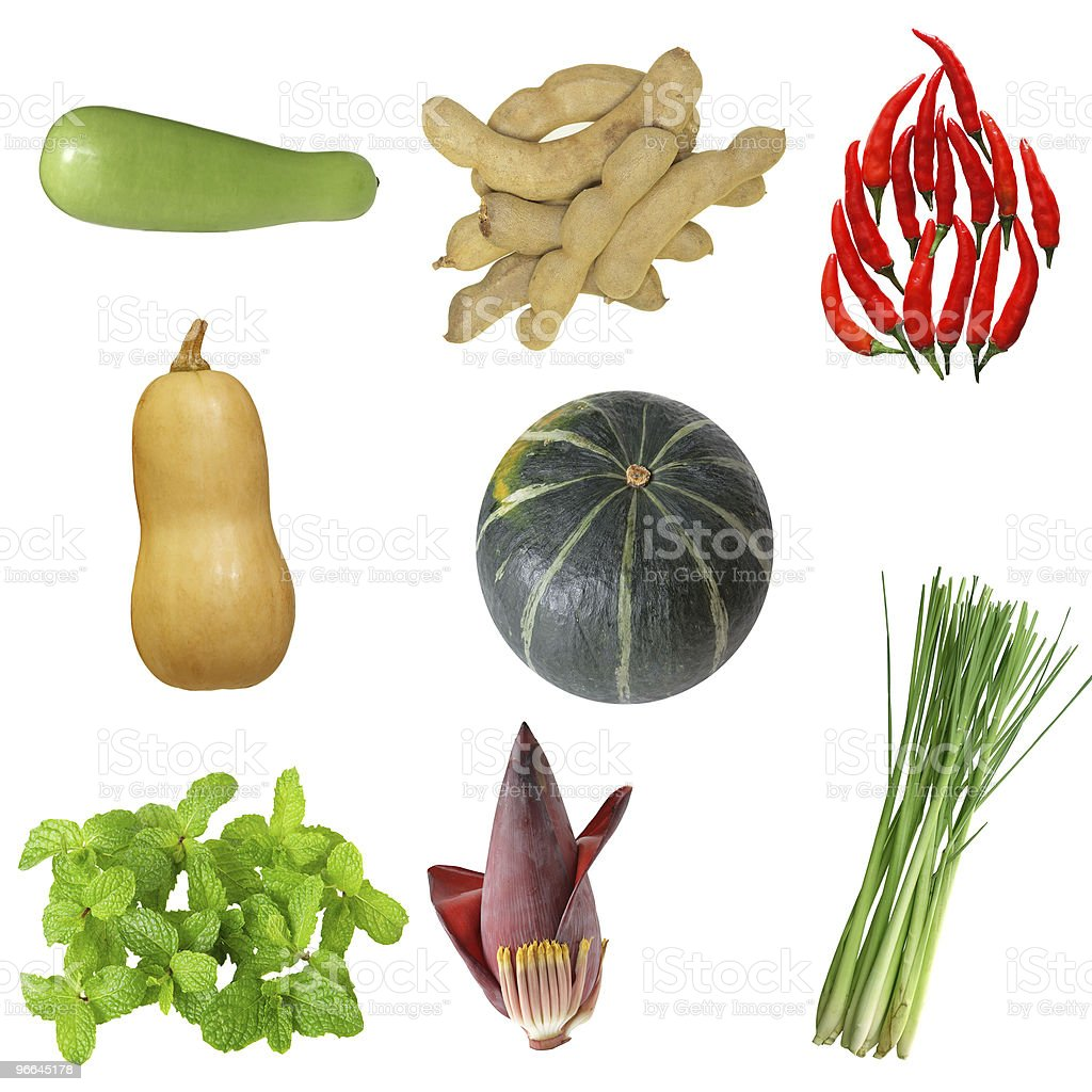 Vegetable Set royalty-free stock photo