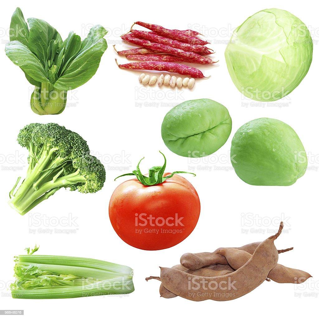Vegetable Set royalty-free stock photo
