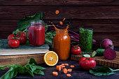 vegetable smoothies