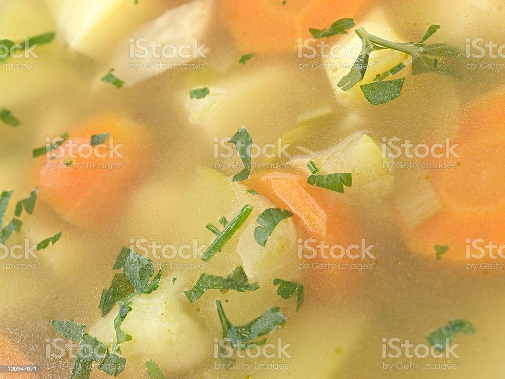 Sopa de verduras foto de stock libre de derechos