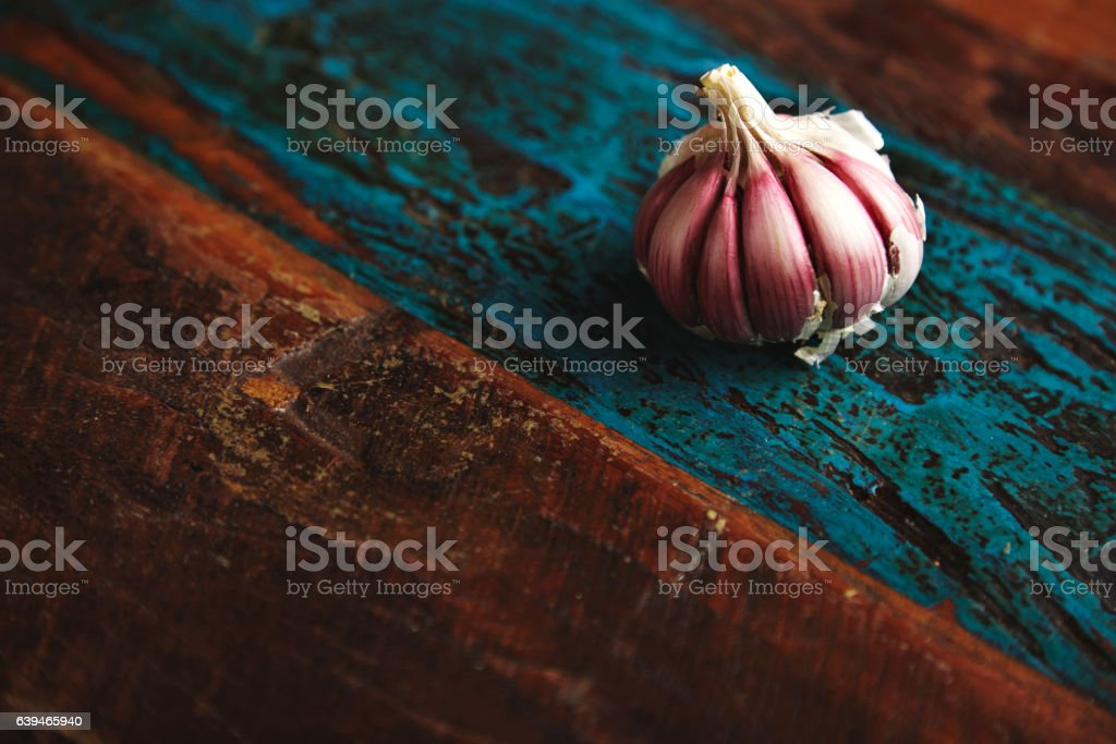 Vegetable spicies of rustic surface stock photo