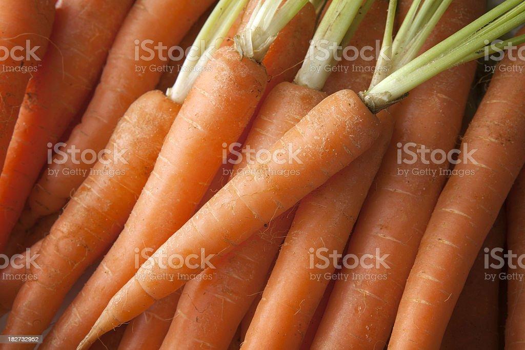 Vegetable Stills: Carrots royalty-free stock photo