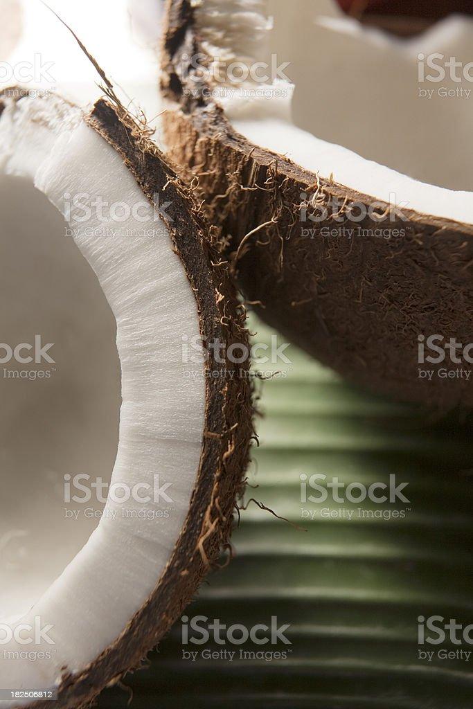 Vegetable Stills: Coconut royalty-free stock photo
