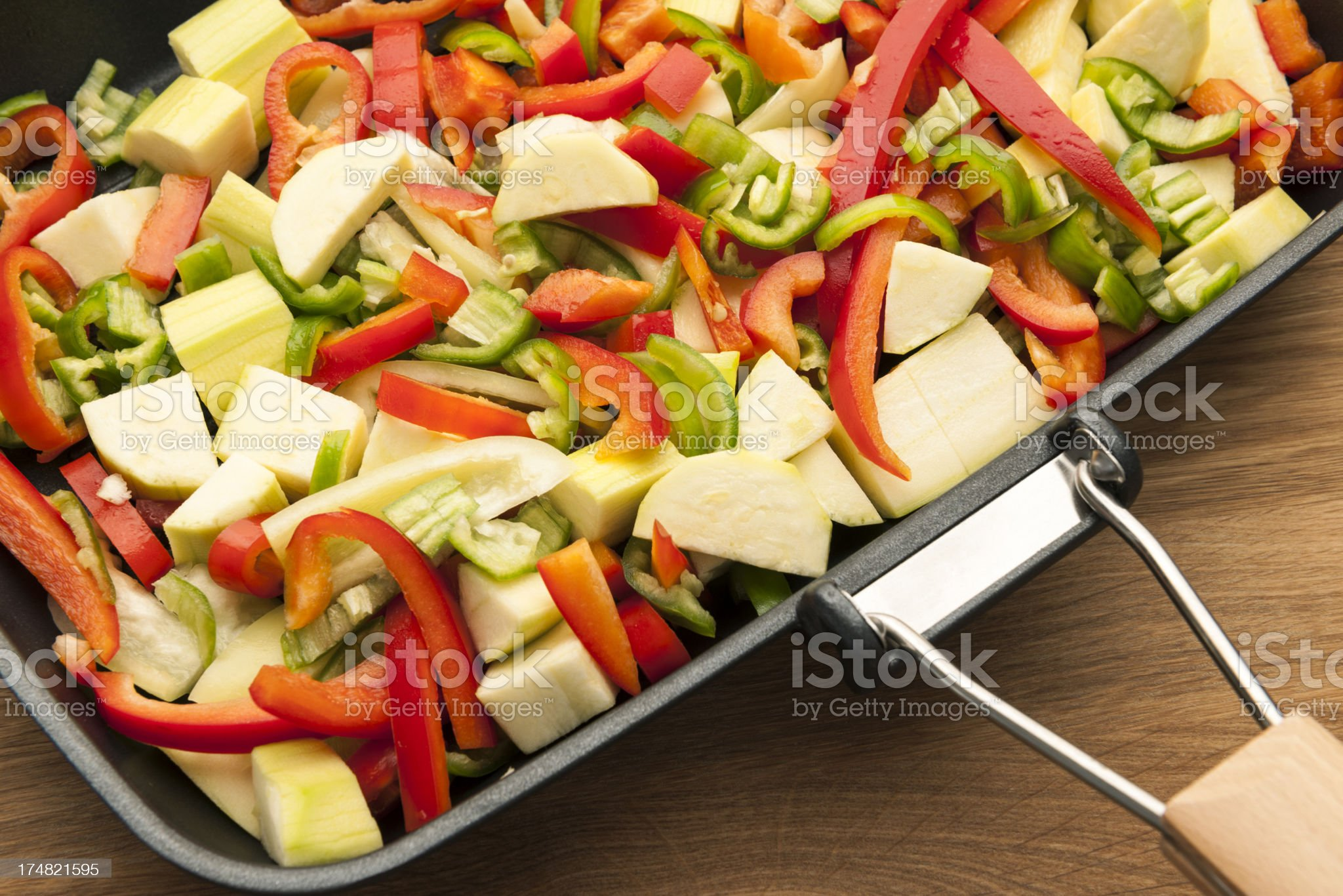 Vegetable Stir Fry royalty-free stock photo