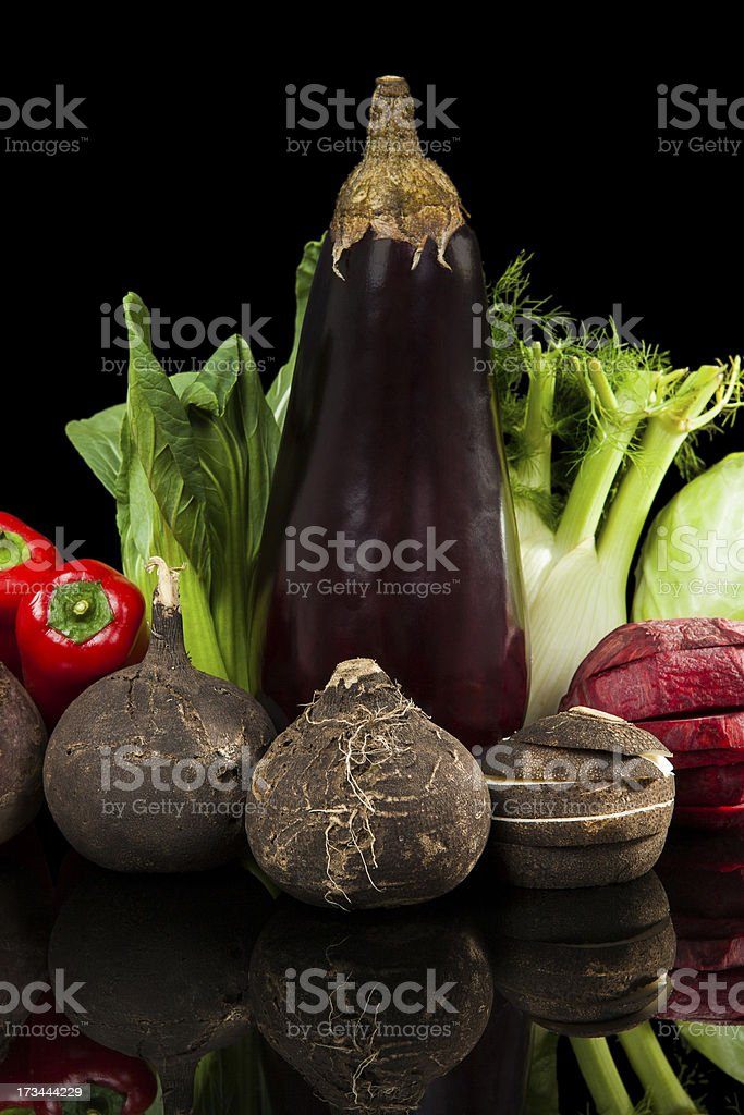 Vegetable variation. royalty-free stock photo